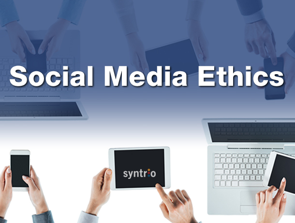 media ethics for online and social media Social media research raises privacy and ethics issues every time you search online for the best restaurant deal, share good news or bad with your.