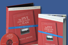 Five Dysfunctions Of A Team Group Training Dvd